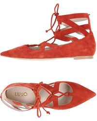 Liu Jo - Ballet Flats - Lyst