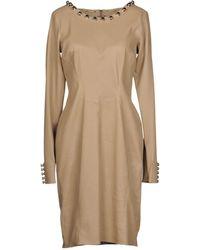 Aphero - Short Dress - Lyst