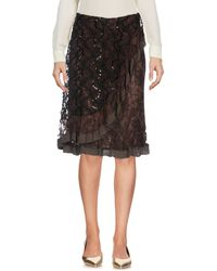 Christian Lacroix - Knee Length Skirts - Lyst