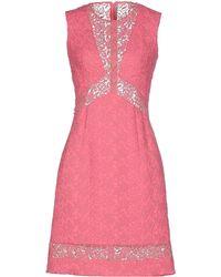 Ermanno Scervino - Short Dress - Lyst