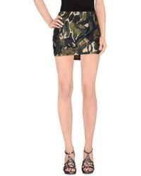 Plein Sud - Mini Skirts - Lyst