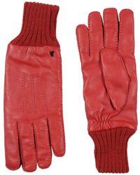Versace Gants - Rouge