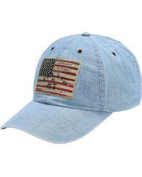 60c846f5d39 Polo Ralph Lauren Hat in Blue for Men - Lyst