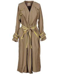 Erika Cavallini Semi Couture - Overcoat - Lyst