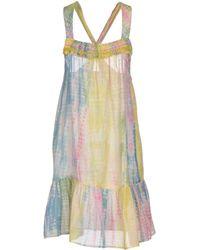 5158d510f56 Lyst - Vanessa Bruno Short Dress in Blue