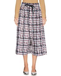Vivienne Westwood Anglomania - 3/4-length Trousers - Lyst