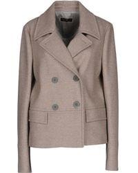 Peserico - Overcoats - Lyst