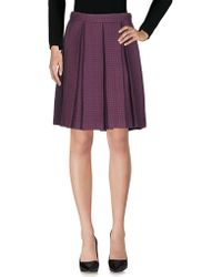 Trou Aux Biches - Knee Length Skirt - Lyst