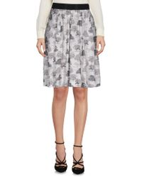 Brian Dales - Knee Length Skirt - Lyst