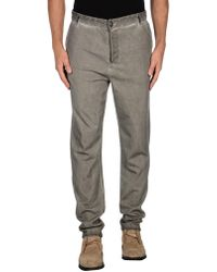 Red Soul - Casual Trousers - Lyst