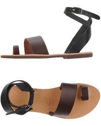 Isapera - Toe Strap Sandals - Lyst