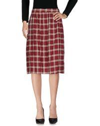 Boutique De La Femme - Knee Length Skirt - Lyst