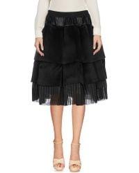 Sara Lanzi - Knee Length Skirts - Lyst
