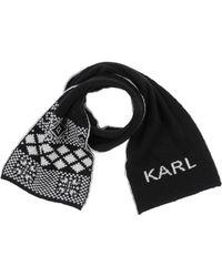 Karl Lagerfeld - Oblong Scarf - Lyst