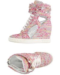 Casadei - High-tops & Sneakers - Lyst