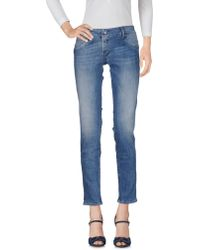 Nine:inthe:morning - Denim Trousers - Lyst