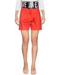Love Moschino - Bermuda Shorts - Lyst