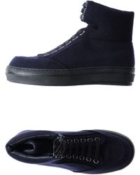 Jil Sander Navy - High-tops & Trainers - Lyst