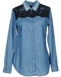 Silvian Heach - Denim Shirt - Lyst