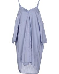 Maison Margiela - Short Dress - Lyst