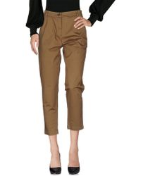 Erika Cavallini Semi Couture | Casual Pants | Lyst