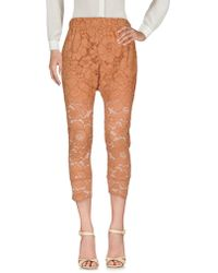 Twin Set - 3/4-length Trousers - Lyst