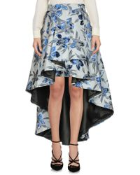 Christian Pellizzari - Knee Length Skirt - Lyst