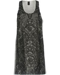 Vera Wang - Short Dresses - Lyst