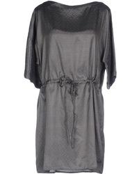 Gas - Short Dress - Lyst