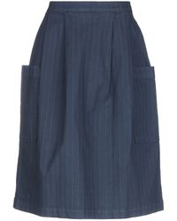 TRUE NYC - Knee Length Skirt - Lyst