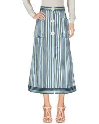 Natasha Zinko - 3/4 Length Skirts - Lyst