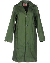 Zucca - Overcoat - Lyst