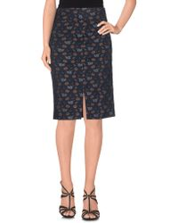Attic And Barn - Knee Length Skirts - Lyst
