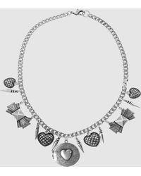 Fallon - Necklace - Lyst