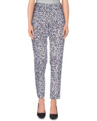 Iceberg - Casual Trousers - Lyst