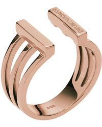 Emporio Armani | Rings | Lyst