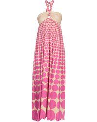 Agogoa - Long Dress - Lyst