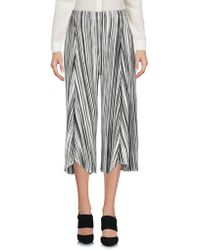 Pleats Please Issey Miyake - 3/4-length Short - Lyst