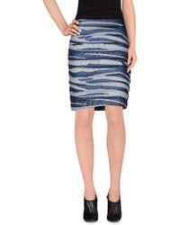 Geospirit - Knee Length Skirt - Lyst