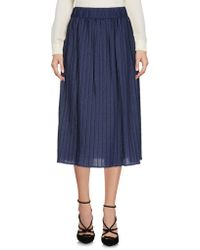 Frankie Morello - 3/4 Length Skirts - Lyst