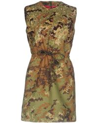 DSquared² - Sequin Camouflage Mini Dress - Lyst