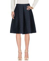 I Blues - Knee Length Skirt - Lyst