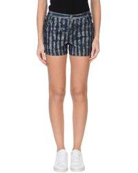 Anna Sui - Denim Shorts - Lyst