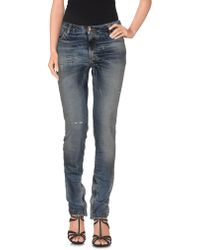 Tom Rebl - Denim Trousers - Lyst