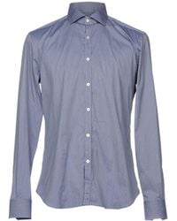 Xacus - Denim Shirt - Lyst