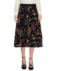 Balenciaga - 3/4 Length Skirt - Lyst