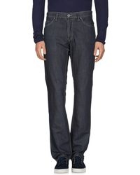 Lacoste - Denim Trousers - Lyst