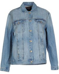 ONLY - Denim Outerwear - Lyst