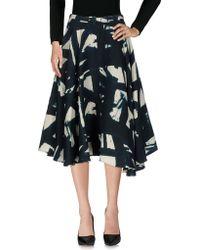 Samantha Sung - 3/4 Length Skirt - Lyst