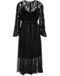 Imperial - 3/4 Length Dress - Lyst